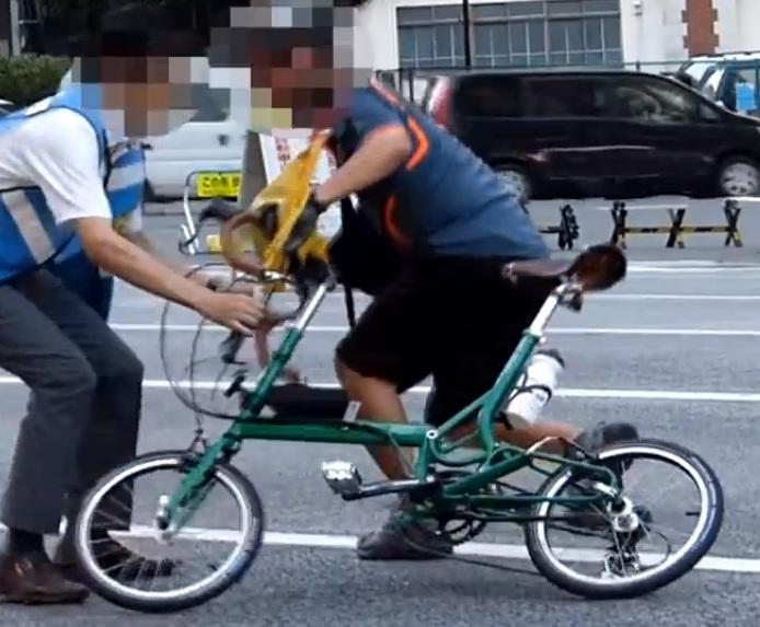 私たちは確実に「自転車運転者 ...